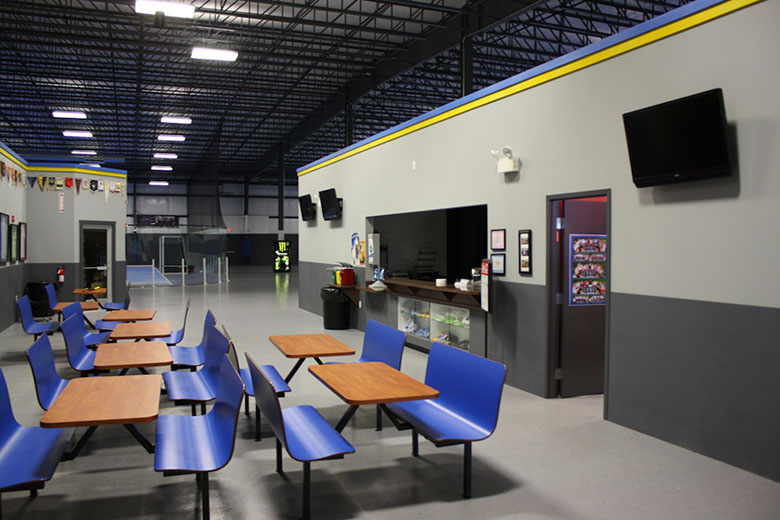 Snack Bar Area